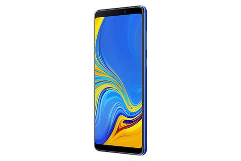 Смартфон Samsung Galaxy A9 (2018) 6/128GB Blue фото 2