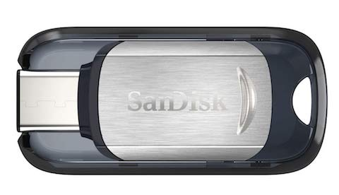 Флешка SanDisk Ultra USB Type-C 128GB фото 3